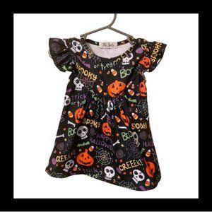 3m Jets & Jewels Flutter Sleeve Halloween Dress